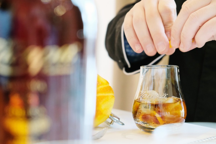 Rum Old Fashioned Chocolate Bitters